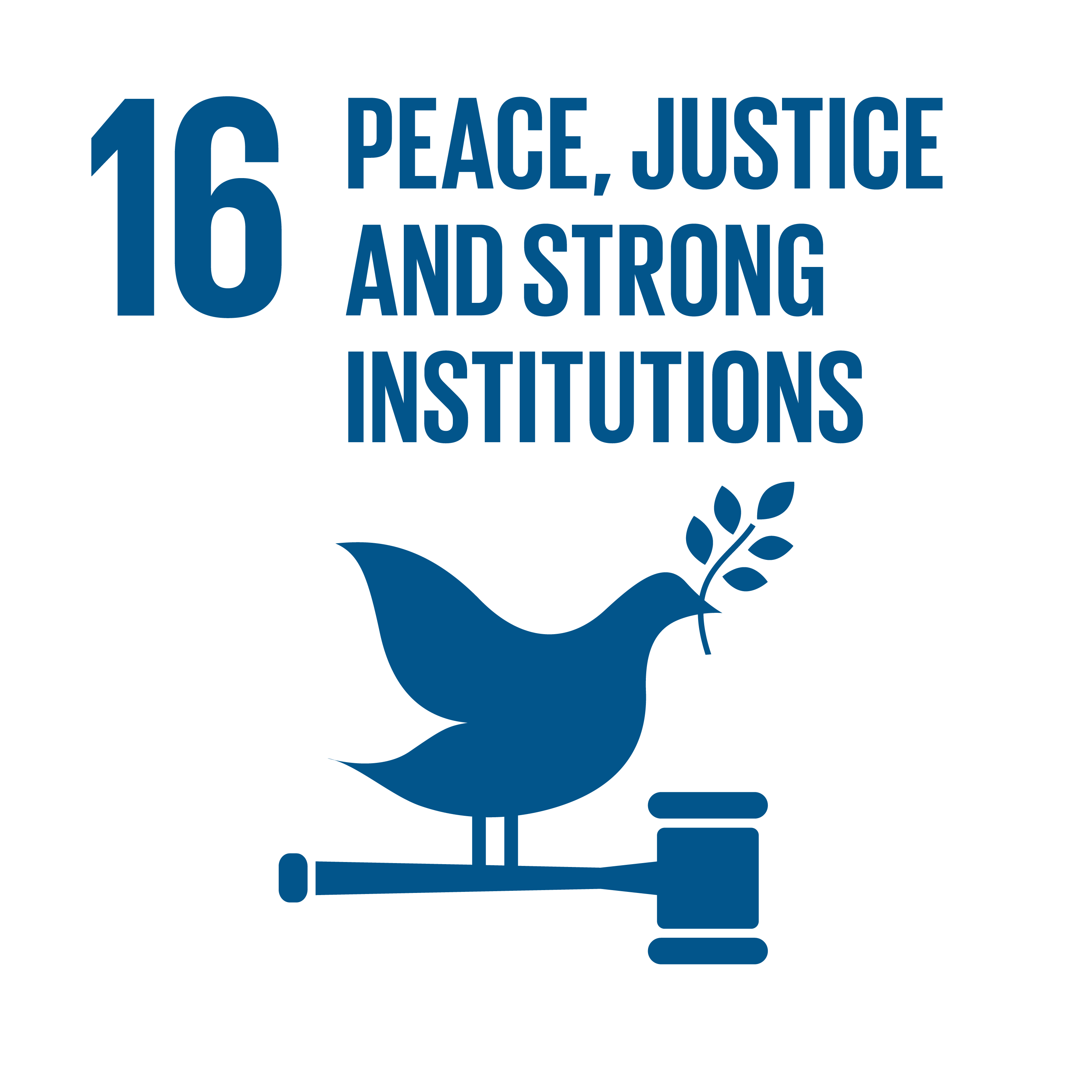 Peace, Justice, Strong Institutions